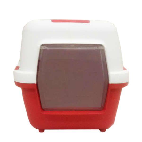 Banheiro Chalesco Cat Toillete - Vermelho