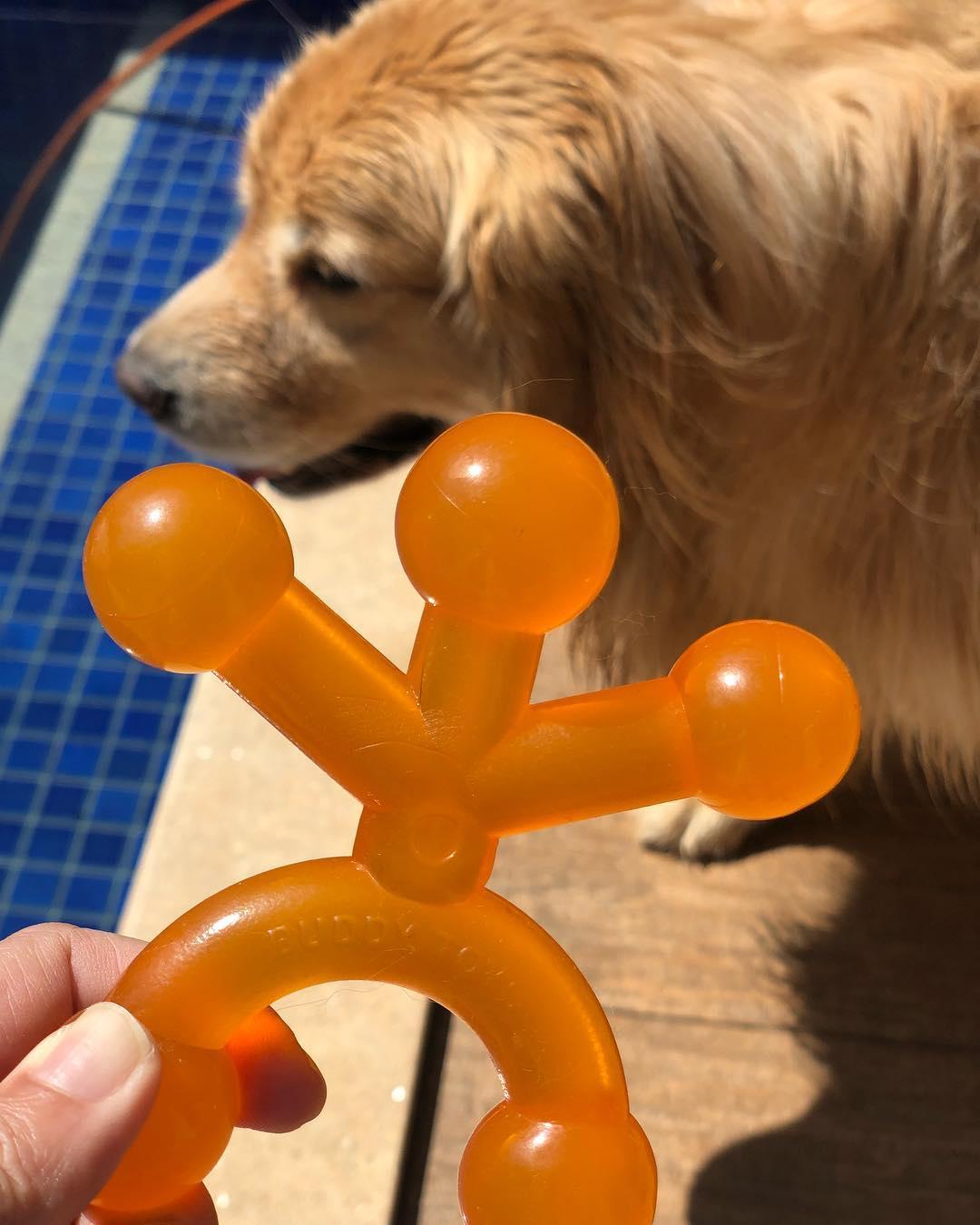 Brinquedo Buddy Toys Boneco Flex - Laranja