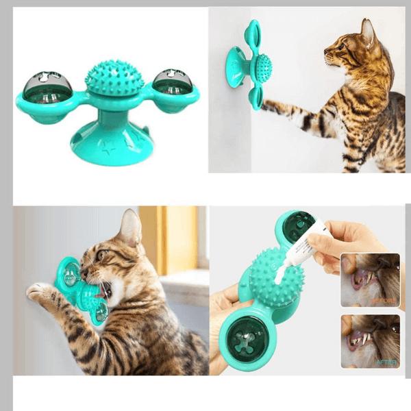 Brinquedo Cat Moinho de Vento