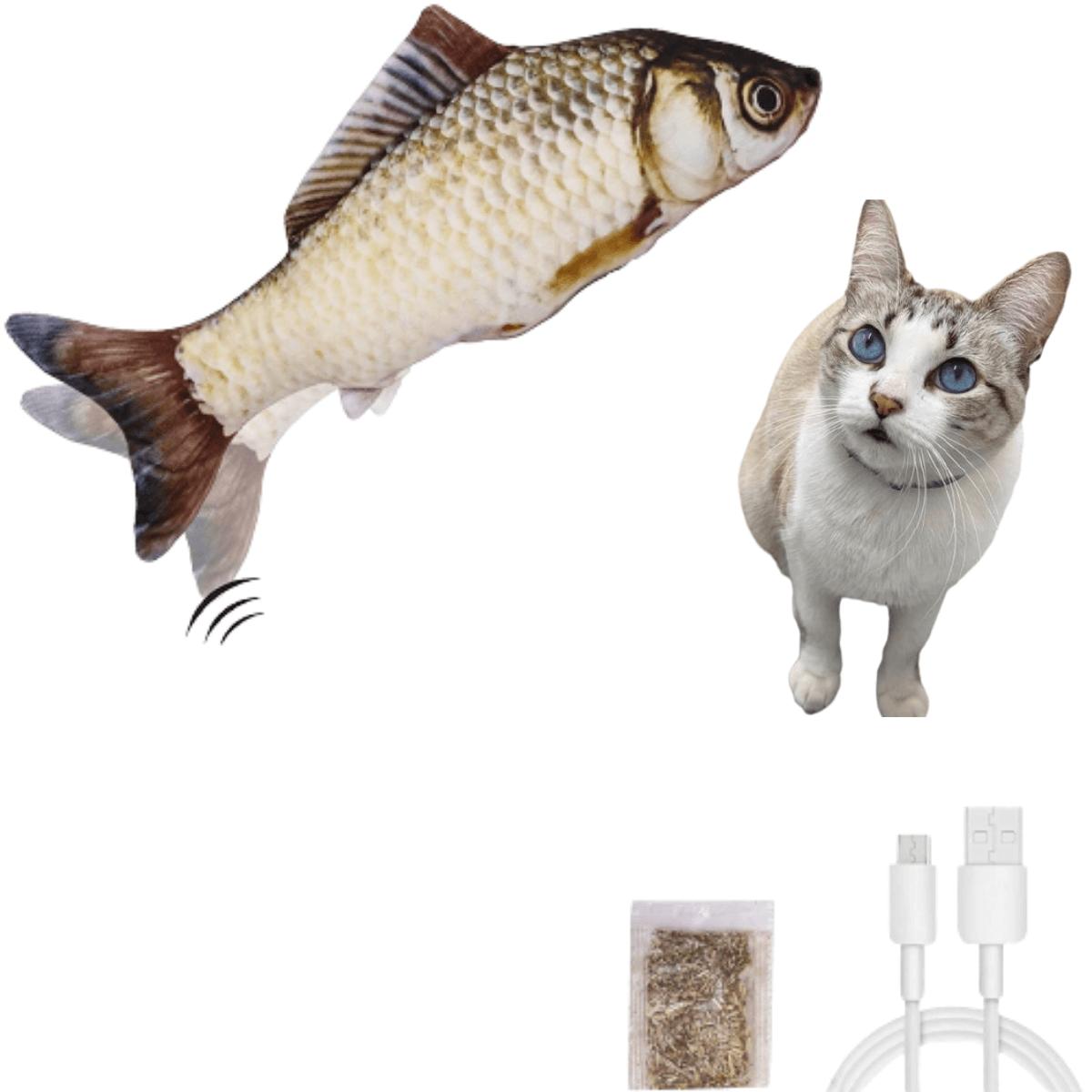 Brinquedo elétrico para gatos