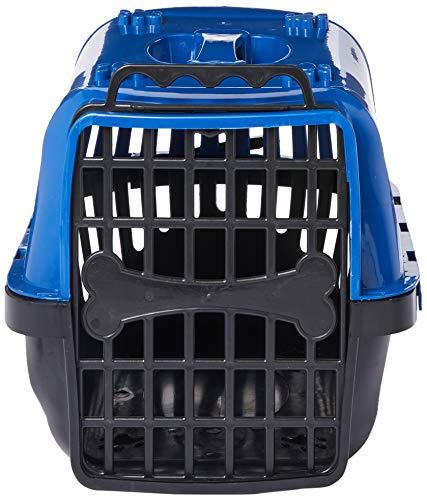Caixa de Transporte Pet Injet Evolution para Cães - Azul