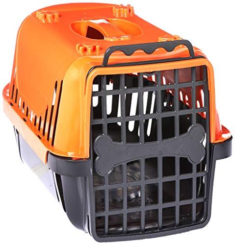 Caixa de Transporte Pet Injet Evolution para Cães Laranja