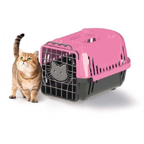 Caixa Transporte Cats Evolution Rosa