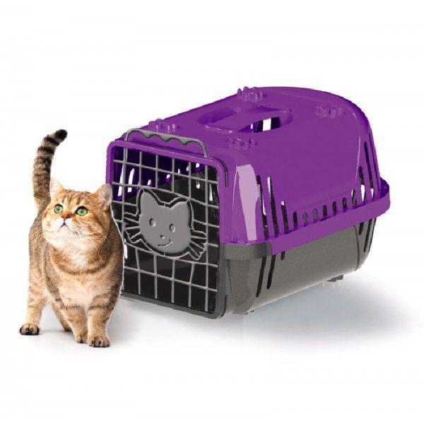 Caixa de Transporte Cats Evolution Lilás