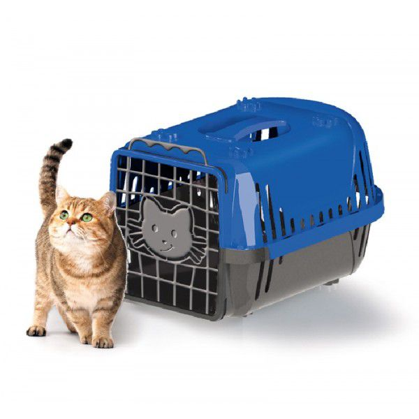 Caixa de Transporte Cats Evolution Azul