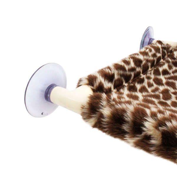 Cama Gatton Catbed Pelúcia para Gatos - Girafa