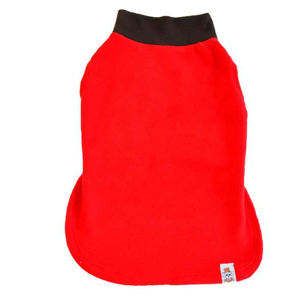 Camiseta Bichinho Chic Básica Vermelho