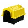 Amarelo Casa Pet Injet Prime Colors Dog House Evolution