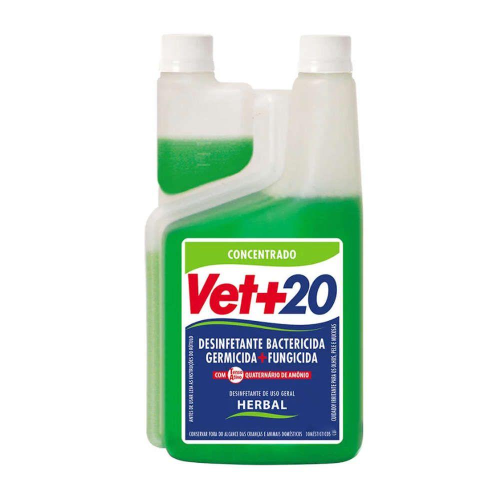 Desinfetante Vet+20 Bactericida - Herbal