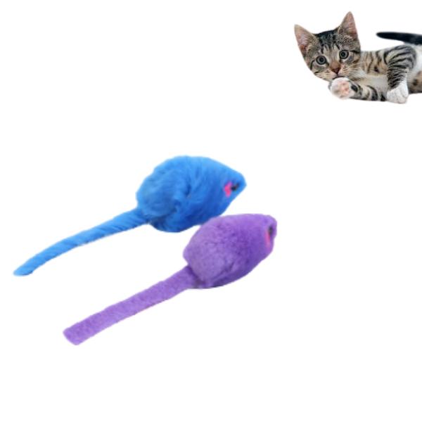 Kit Brinquedos para Gatos 4 Peças