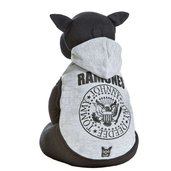Moletom Dog Club Ramones - Cinza