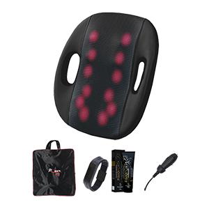 Almofada Massageadora Confort Shiatsu Roller 12 Bulbos Bivolt