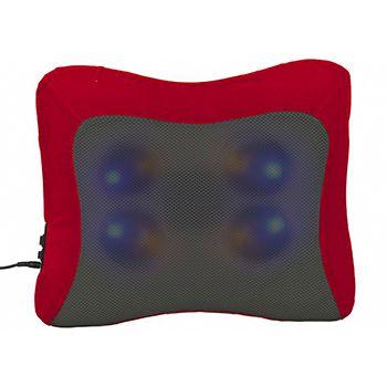 Almofada Massageadora Roller Movimento Shiatsu Bivolt Relaxante