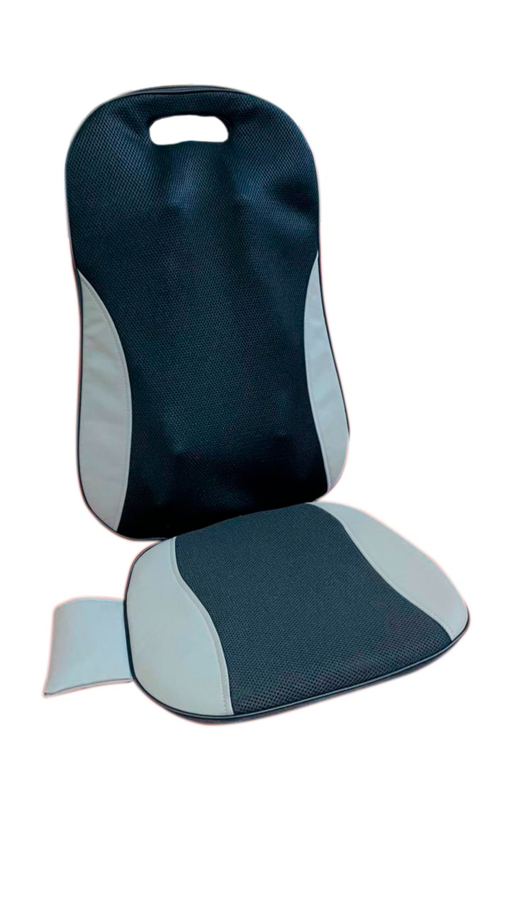 Assento Encosto Shiatsu Carro 3D Massageador Relax Bivolt Controle