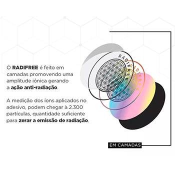 Dispositivo Bloqueador Radiação Celular Notebook Eletrônicos Adesivo Radifree Therapy