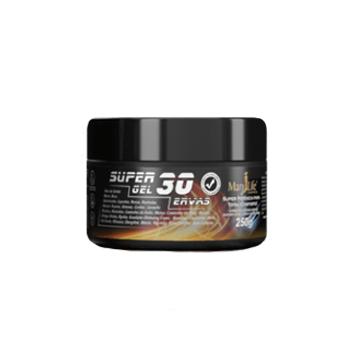 Gel de Massagem 30 Ervas Dor Muscular Tensão Frio Quente Circulação Sanguínea 250g