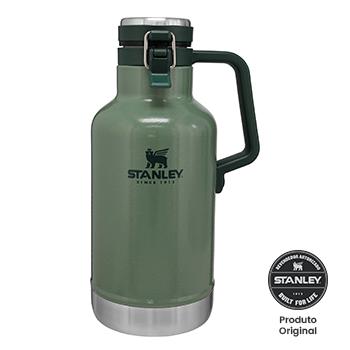 Garrafa  Growler Stanley Térmico Quente Gelado Cerveja Chopp