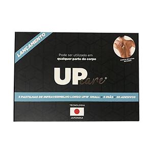 Kit 30 Adesivos Para Dor Muscular Circulação Sanguínea Up Care Infravermelho Magnético - Therapy