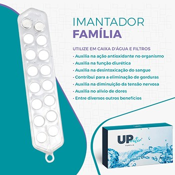 Kit Imantador De Água Portátil E Família Up Water Therapy