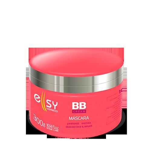 Mascara BB Cream 10 Em 1 Reconstrução Anti Frizz Reparação Fios Danificados Protetor Térmico 300g - Ellsy Cosmetics