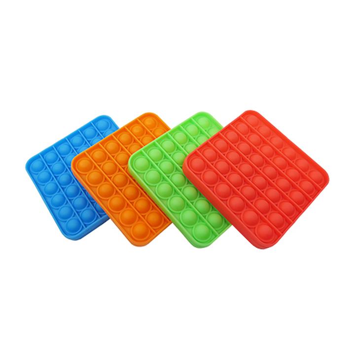 Pop It Fidget Toy Quadrado Anti Stress Brinquedo Sensorial