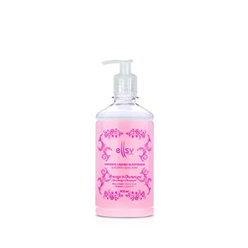 Sabonete Líquido Corpo e Mãos Pele Hidratada - 500mL   Ellsy Cosmetics