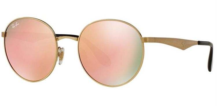 Ray Ban New Round Metal RB 3537 001 2Y 268752c313