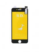 Película de gel preta 5D IPhone 7/8 Plus