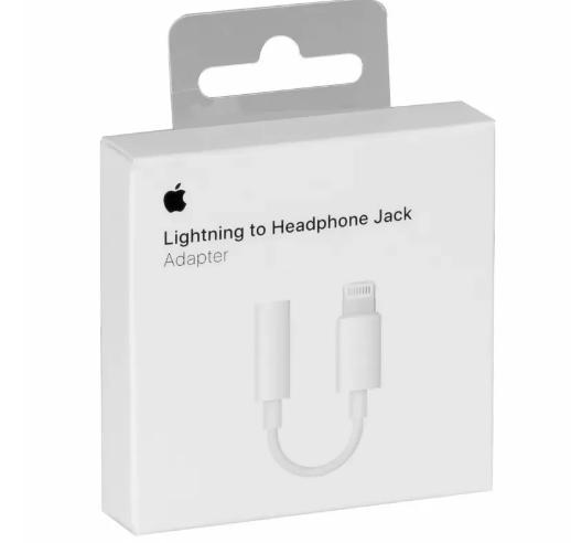 Adaptador Lightning para fone de ouvido