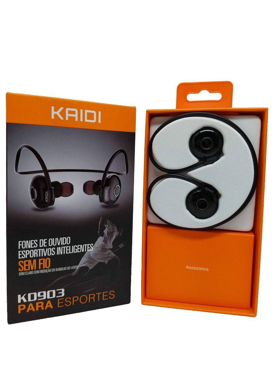 Fone de ouvido sem fio Kaidi Kd903