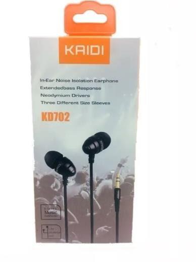 Fone de ouvido Stereo  Kaidi Kd-702