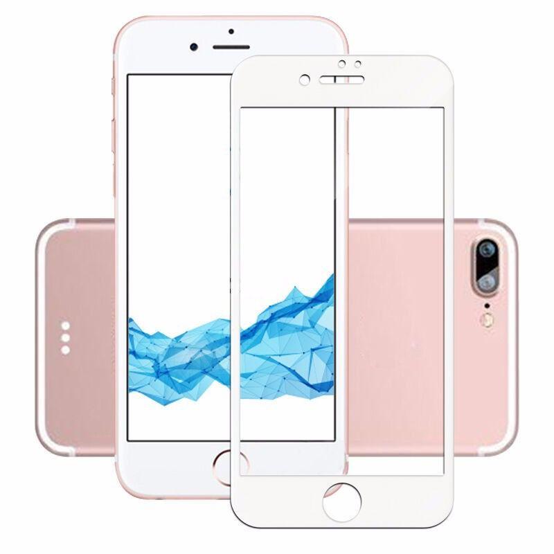 Película de vidro 3D Branca IPhone 7/8 plus