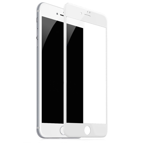 Película de vidro 5D Branca  IPhone 7/8 plus