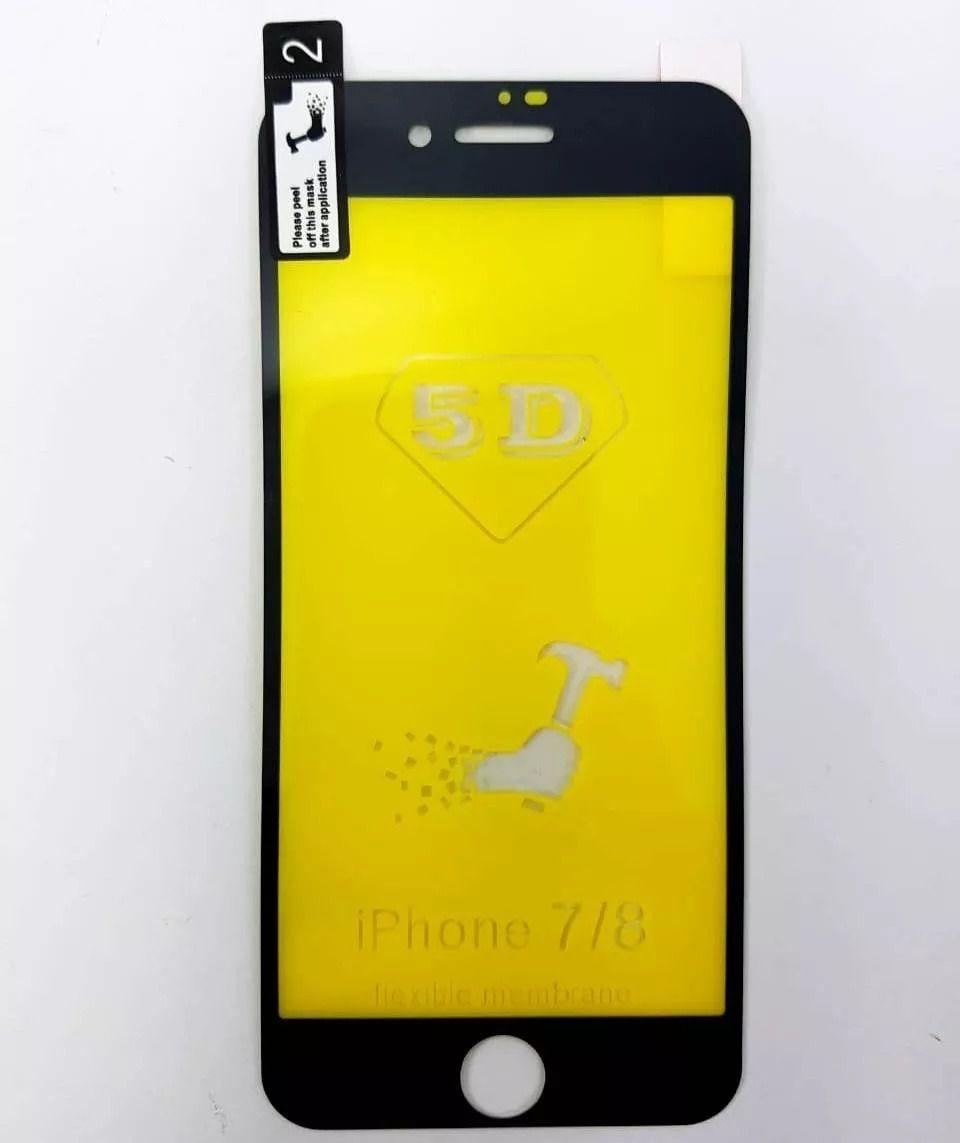 Película nano gel  preta IPhone 7/8