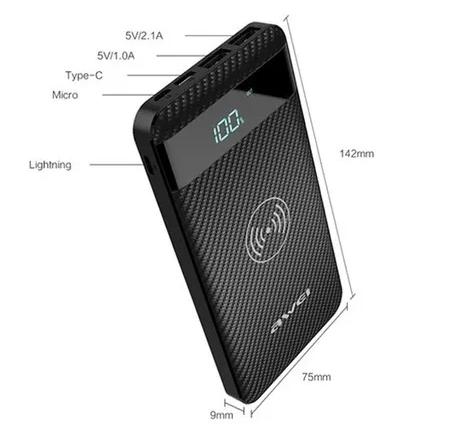 Power Bank AWEI Wireless