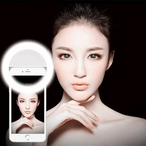 Luz Selfie Ring Light