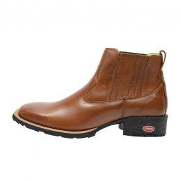 b890706ae Botinas e botas country fabricadas em couro