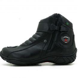132431f6ea640 bota atron shoes motociclista preta, Atron Shoes - Botas e coturnos ...
