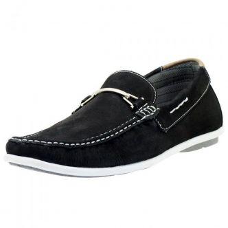 1b5de7892 Mocassim dockside masculino Atron Shoes preto 571