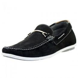 Mocassim dockside masculino Atron Shoes preto 571