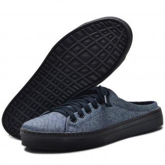 Mule feminino jeans CL305