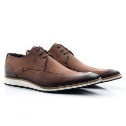 Sapato masculino oxford de couro com sola de EVA 363