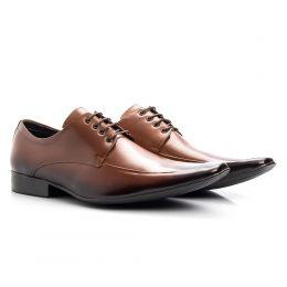 Sapato masculino social de couro solado de borracha 157 whisk