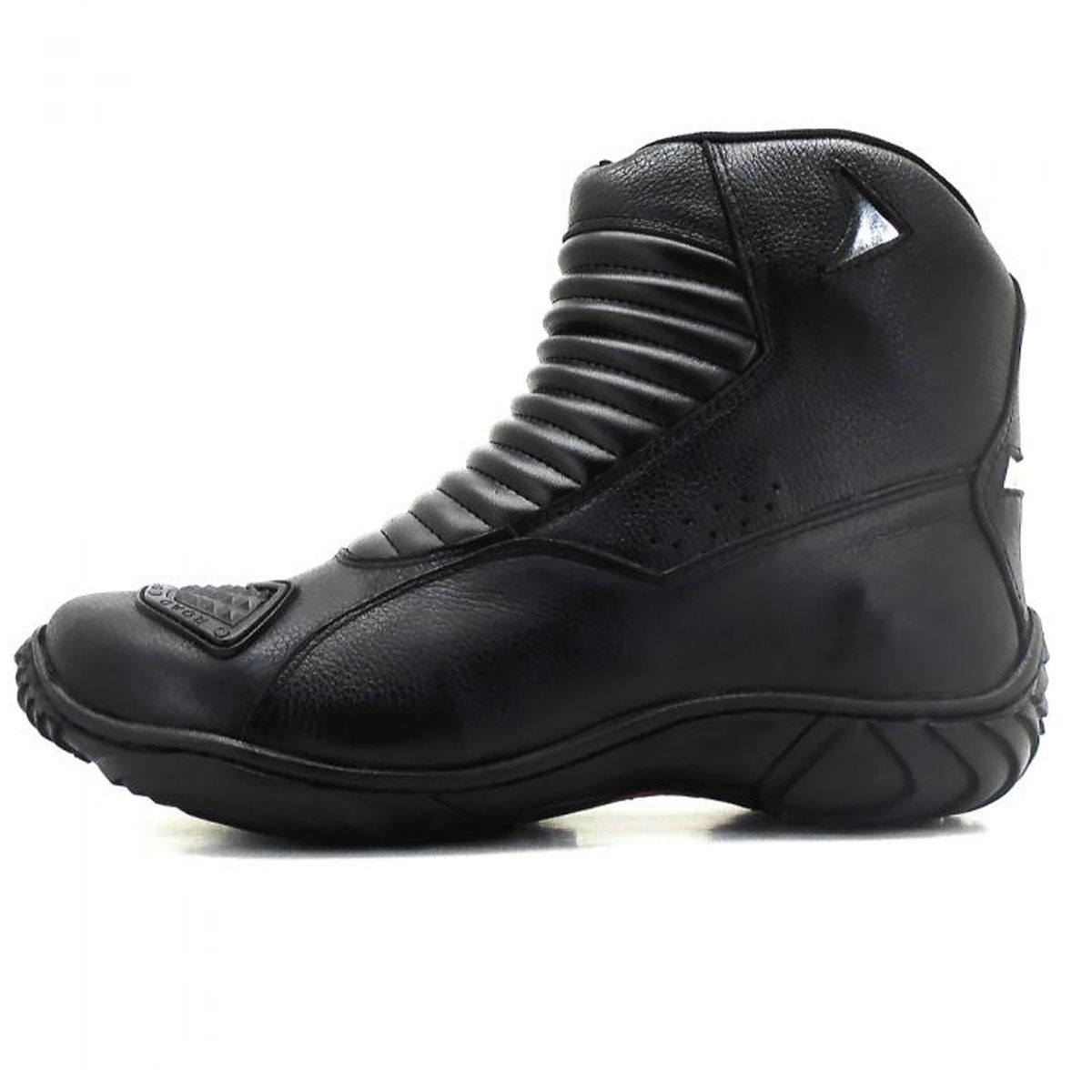 Bota para motociclista de cano médio Atron Shoes - GRÁTIS 1 CARTEIRA - 301