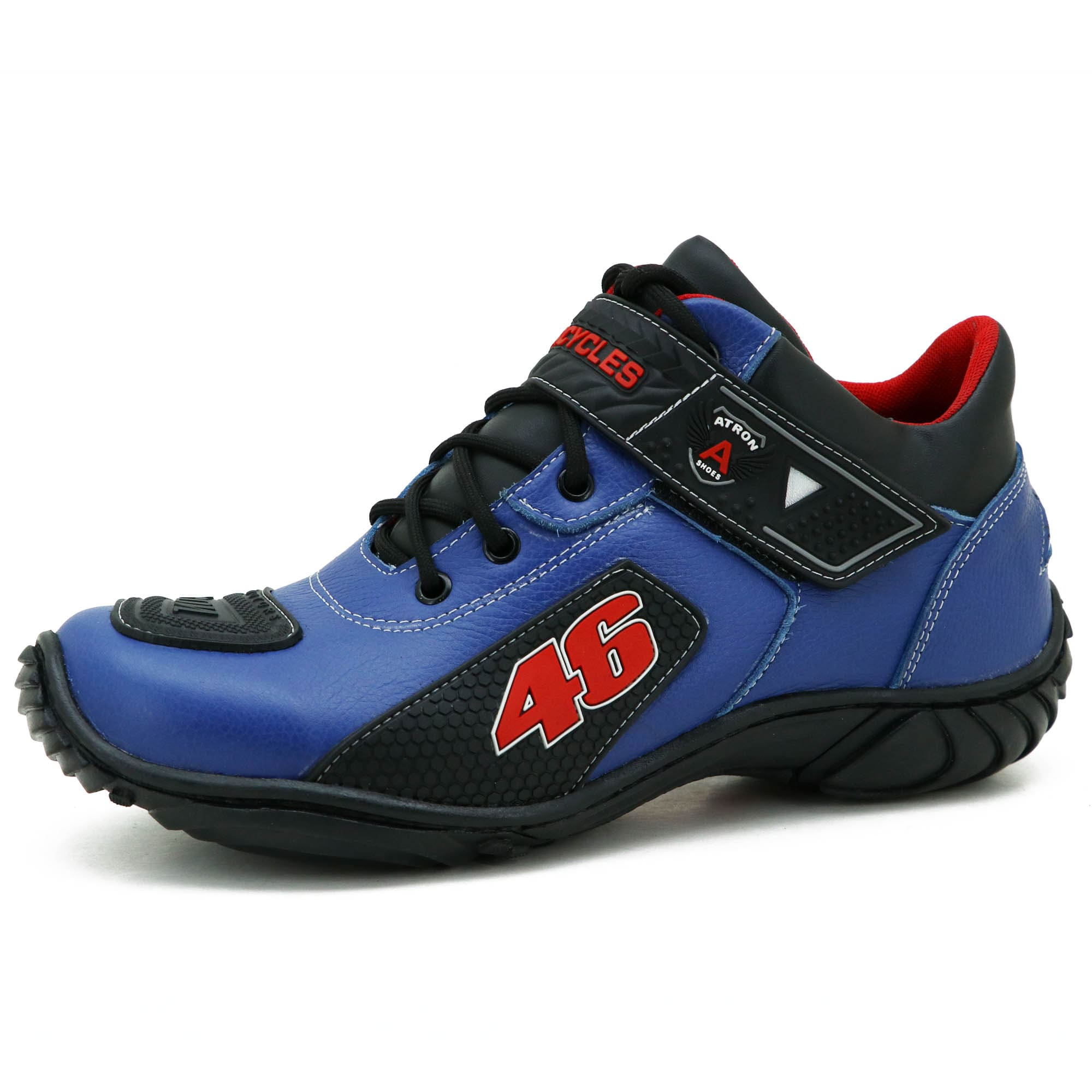 Bota motociclista Valentino Rossi azul 46 401
