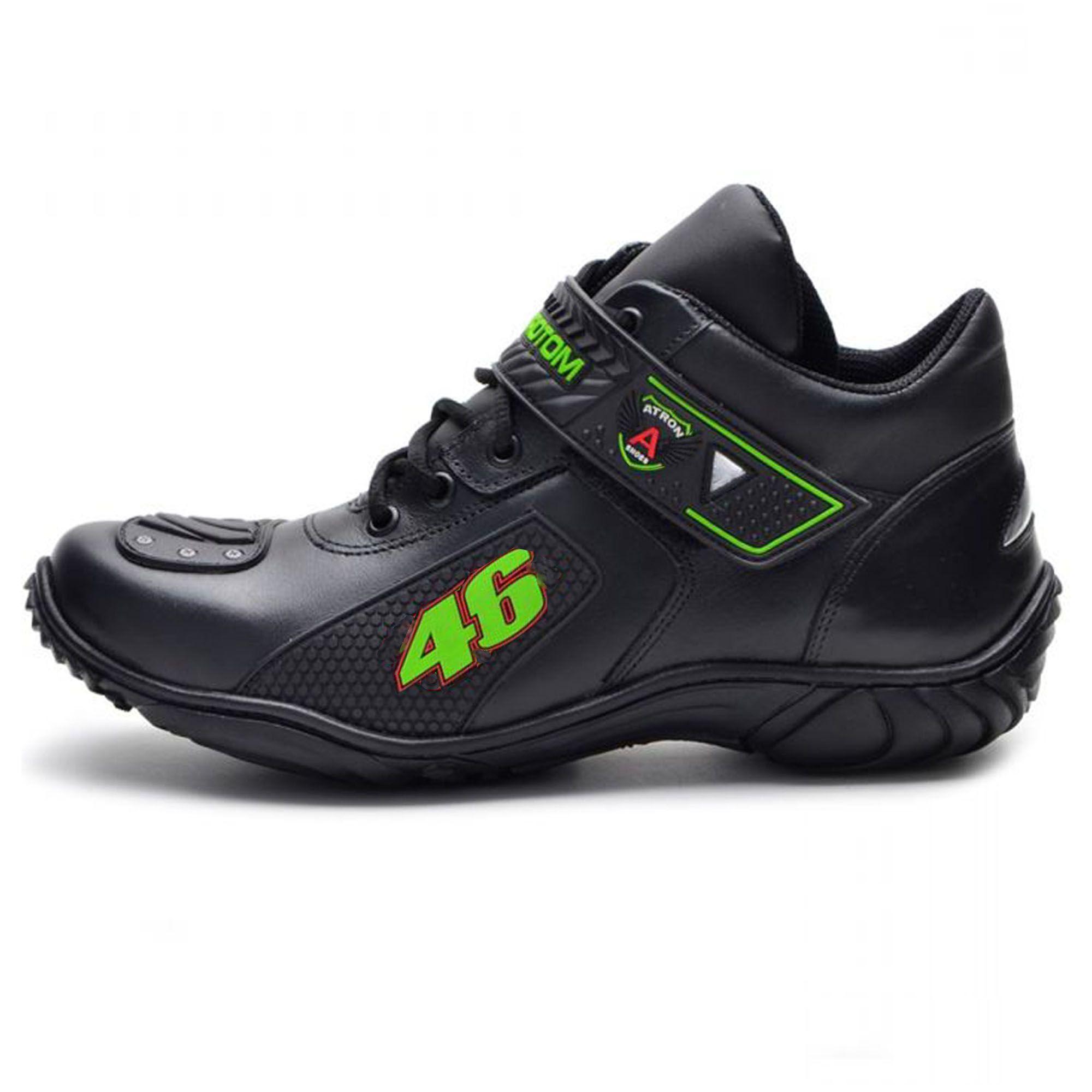 Bota Motociclista Valentino Rossi Verde 46