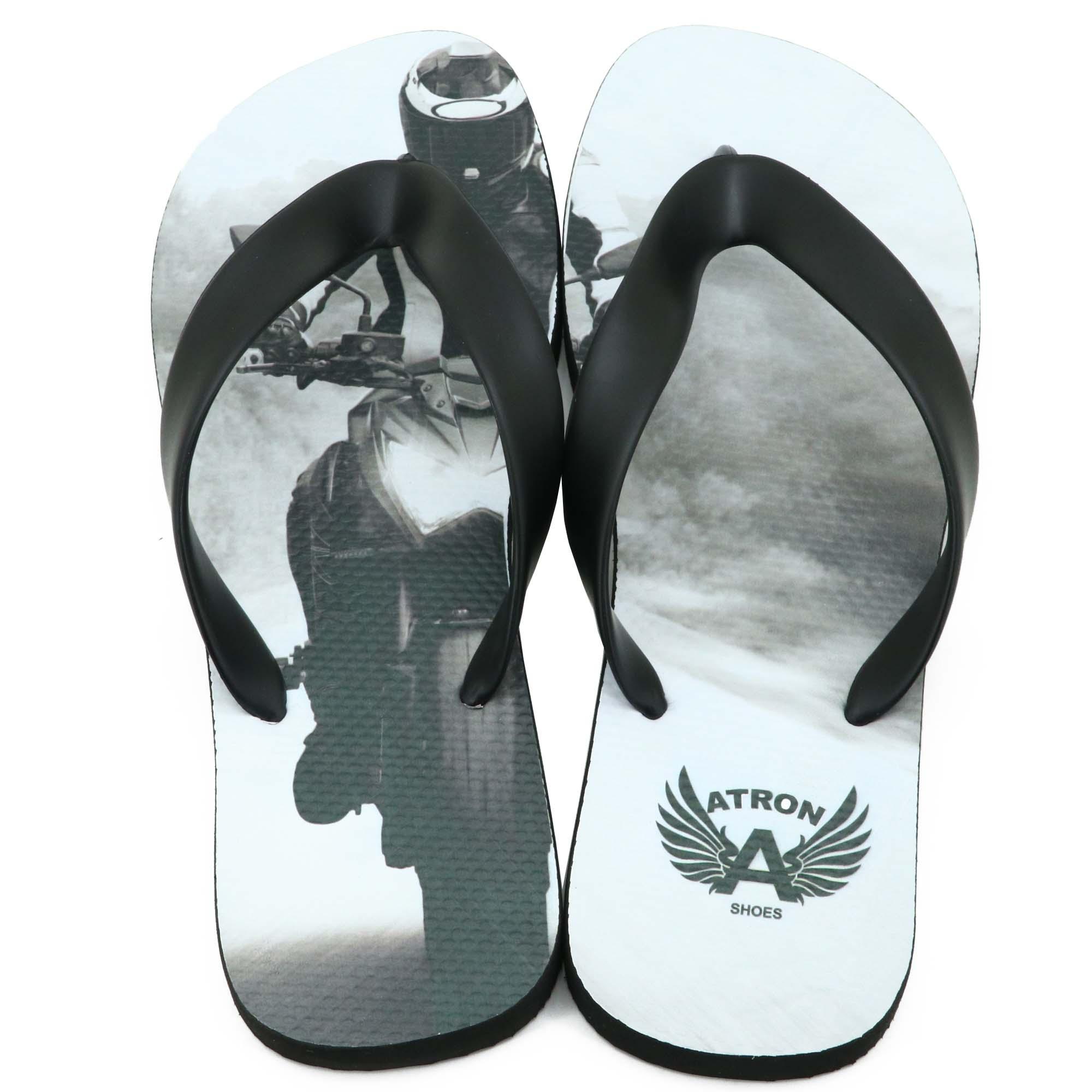 Chinelo Estampa motociclista Atron Shoes