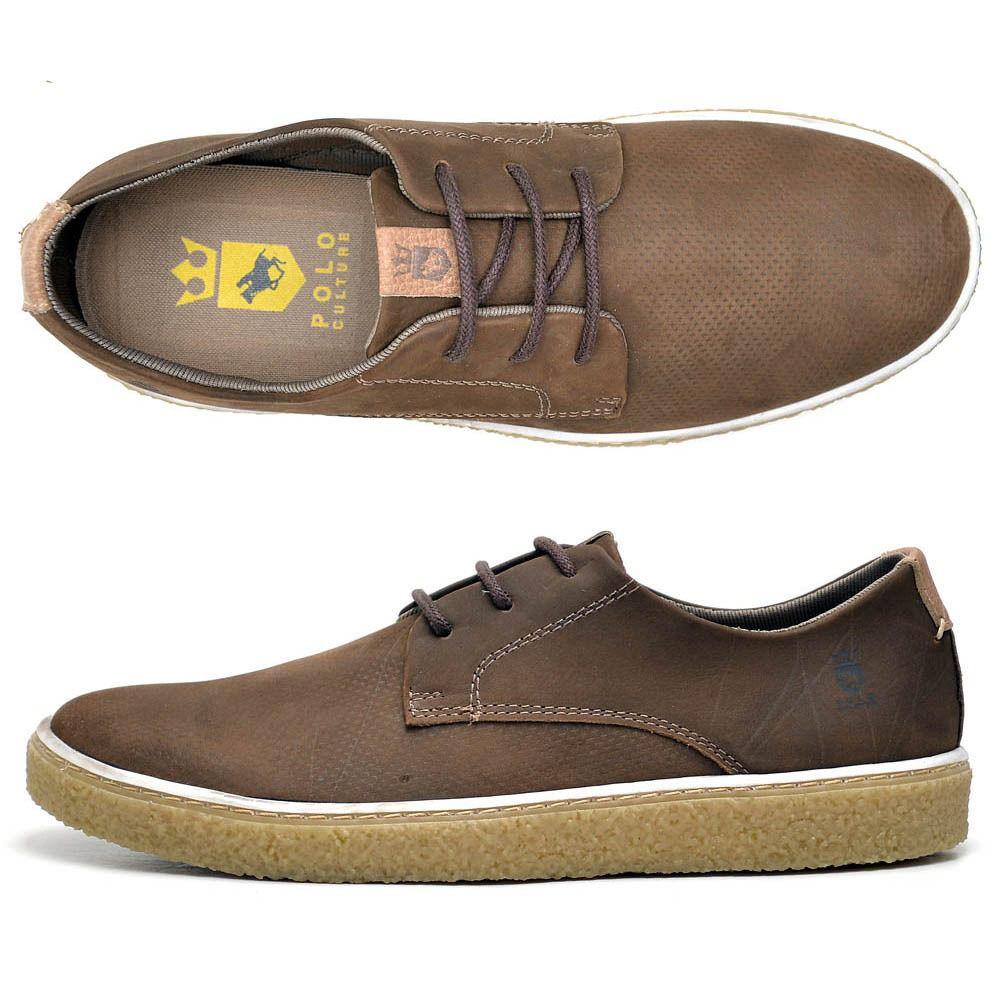 Kit chinelo e Sapato casual de couro super resistente