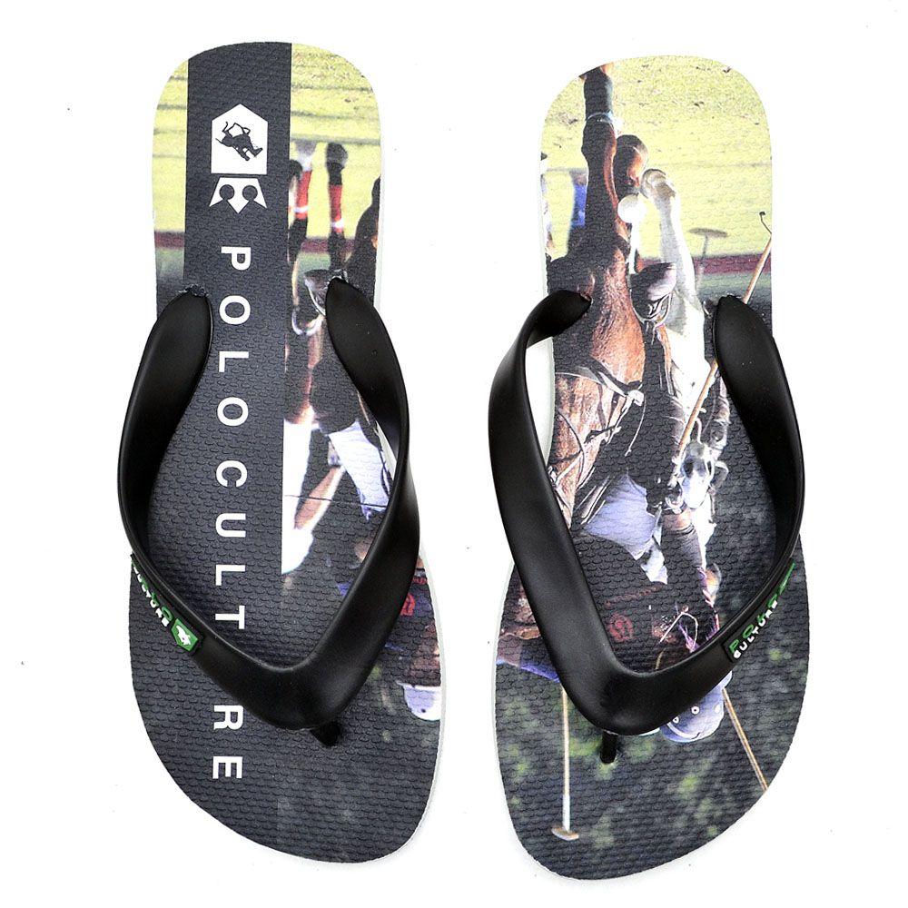 Kit de chinelo e sapato casual de couro sintético 170