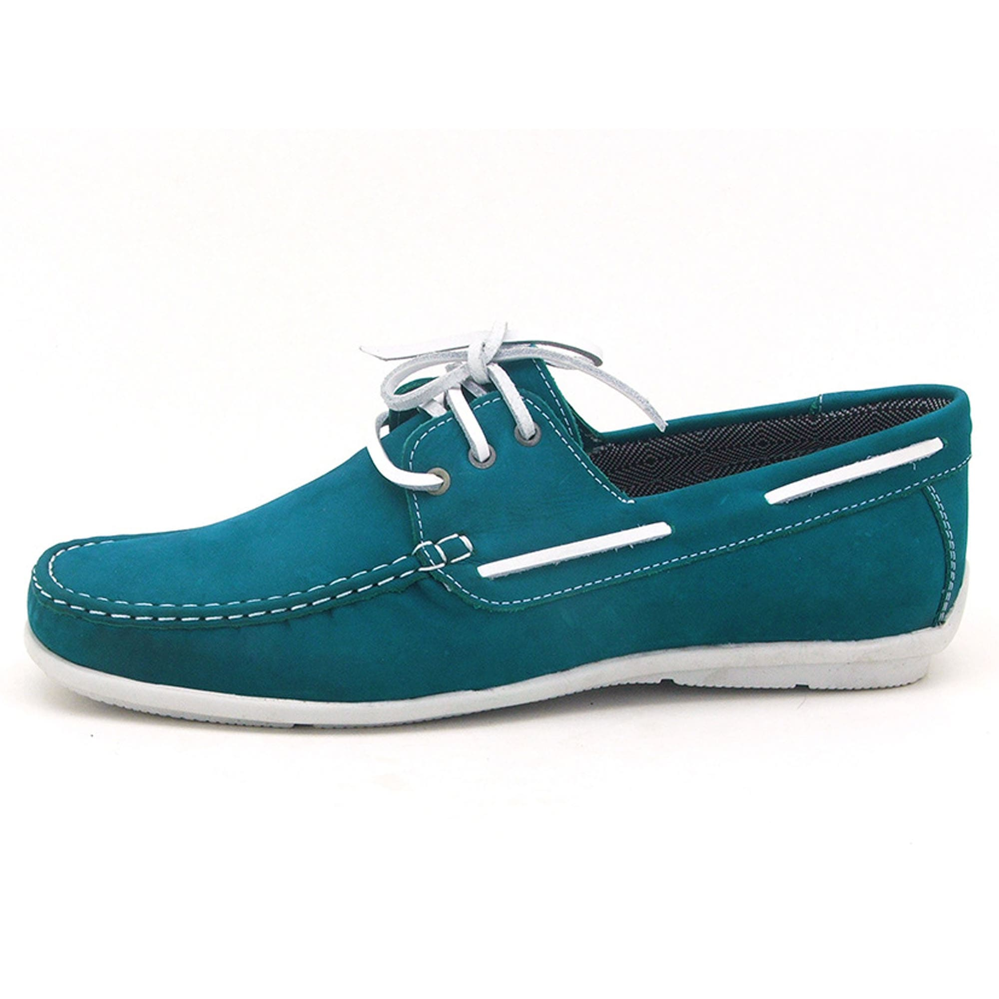 Mocassim dockside masculino Atron Shoes azul 572